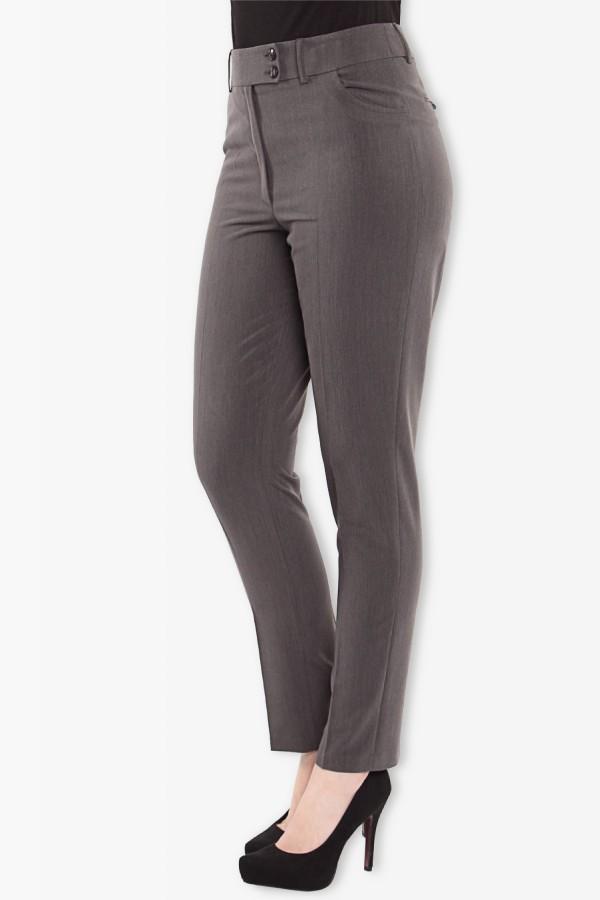 Pantalon casual Nuria P 099 gri