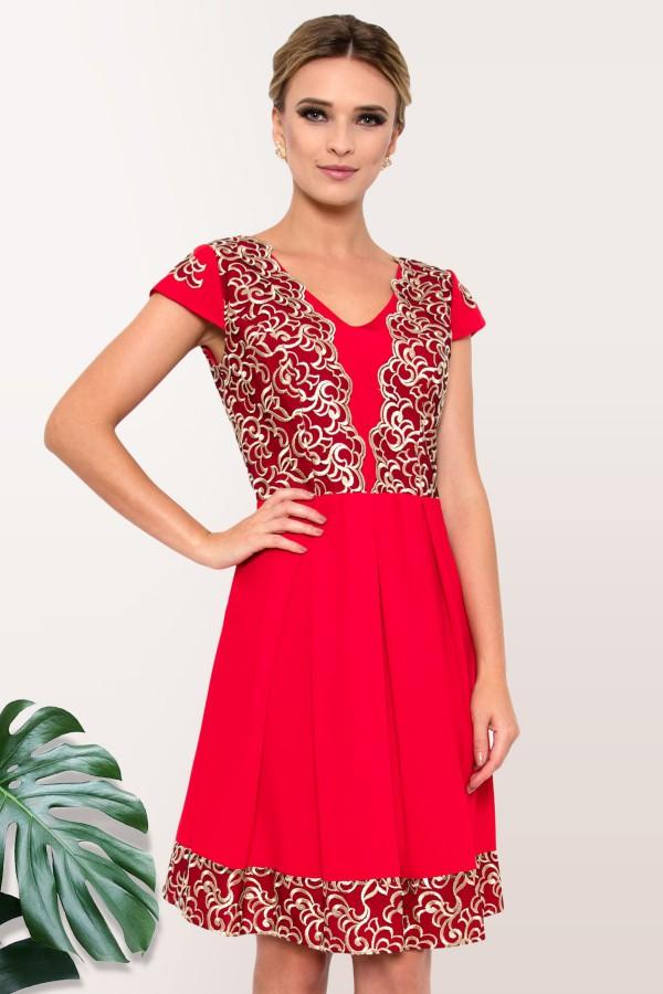 Rochie eleganta R 926 rosie