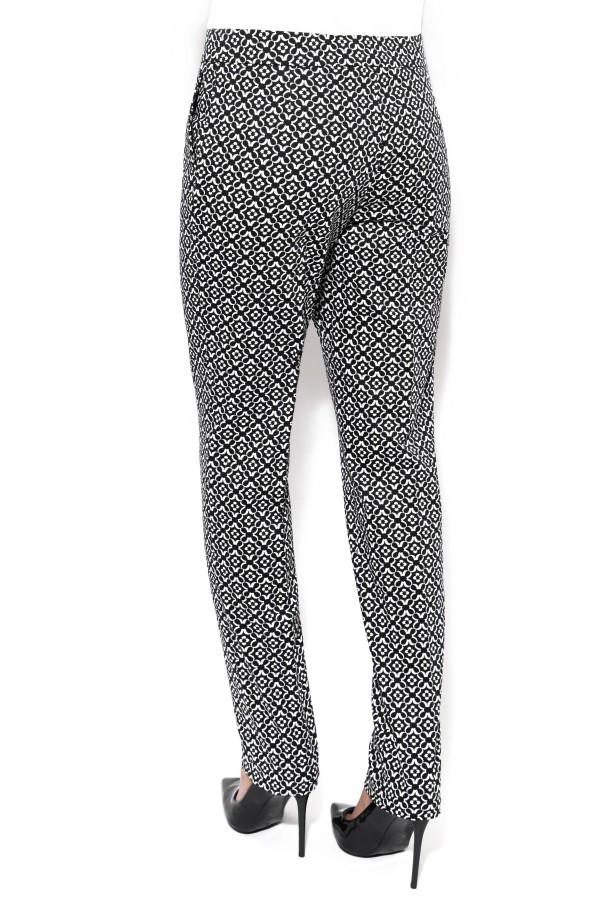 Pantalon casual Brandusa P 105 negru