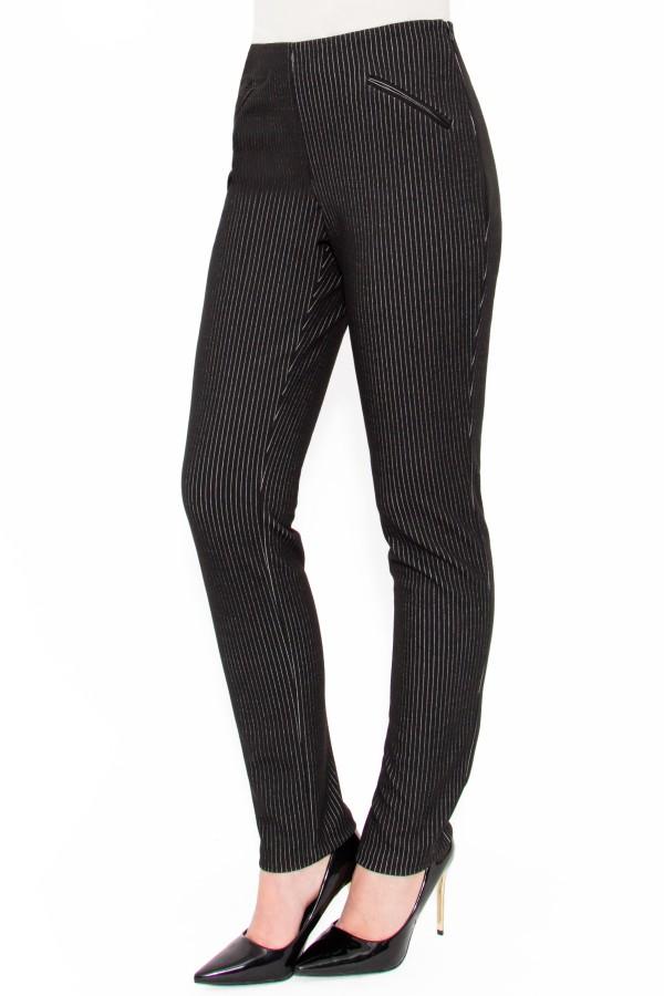 Pantalon casual Noelia P 114 negru