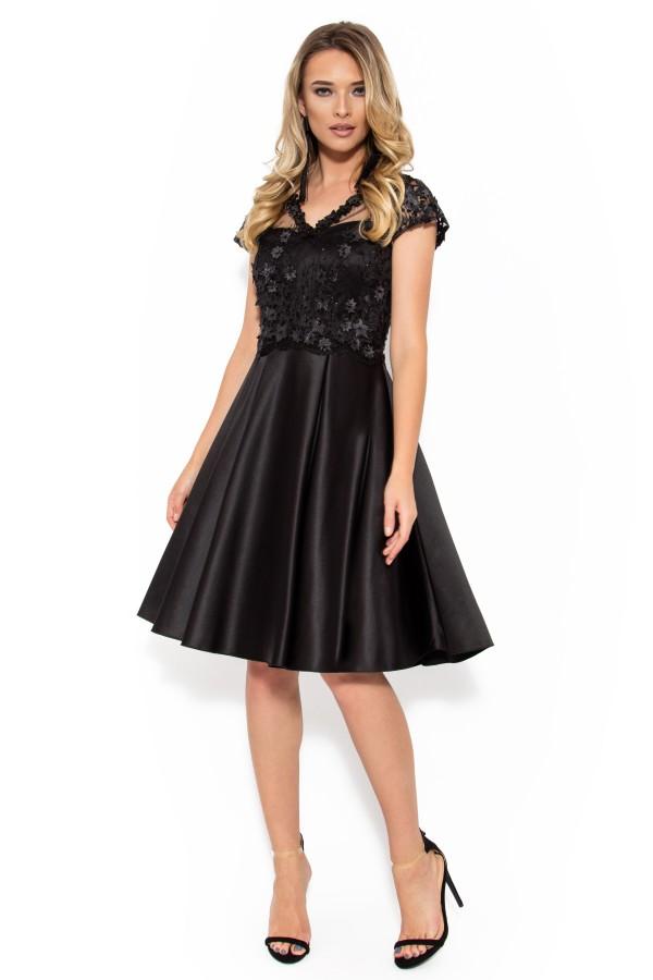 Rochie eleganta R 009 negru