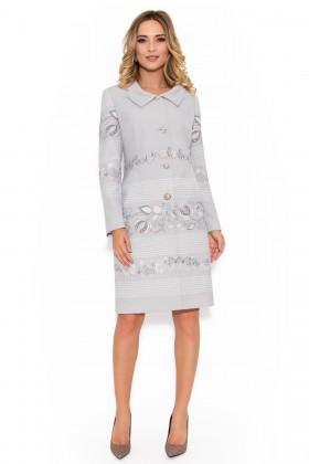 Pardesiu cu rochie 7711 gri
