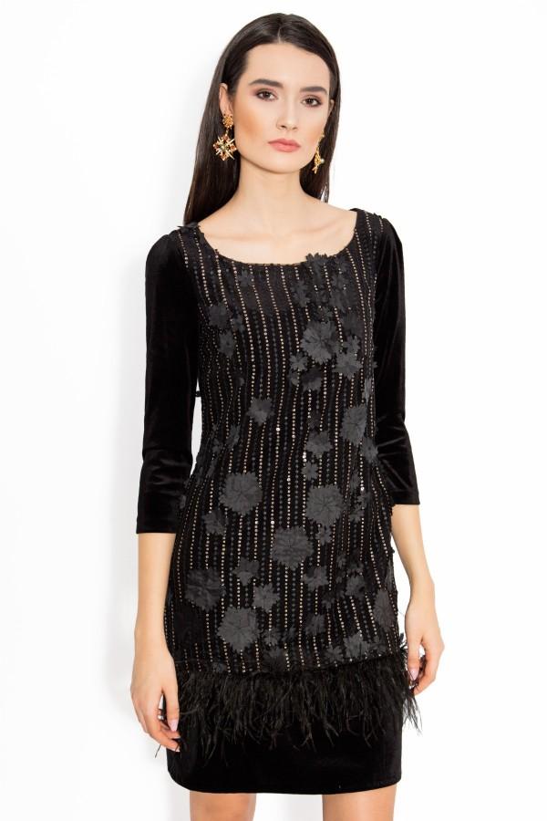 Rochie eleganta Kirra negru