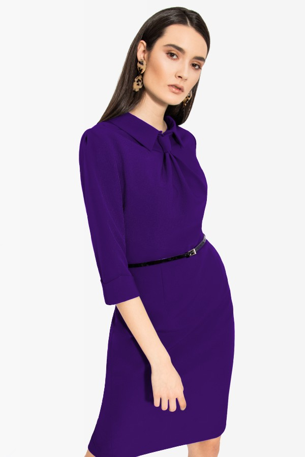 Rochie casual-office R 064 mov