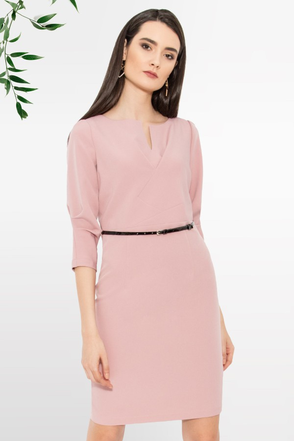 Rochie casual-office R 114 roz