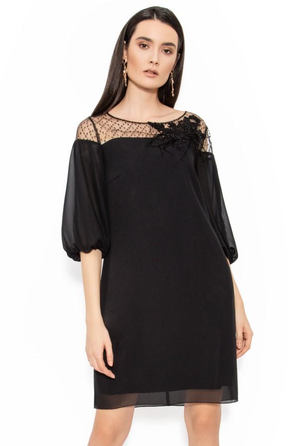 Rochie eleganta R 100 negru
