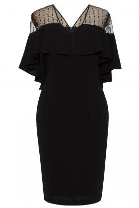 Rochie eleganta Kyra negru