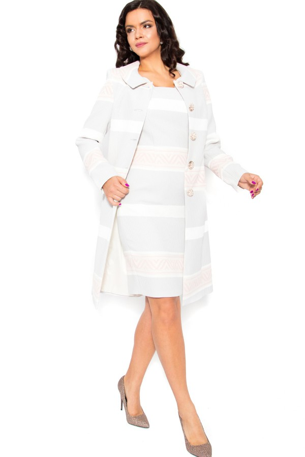 Pardesiu cu rochie 7714 gri