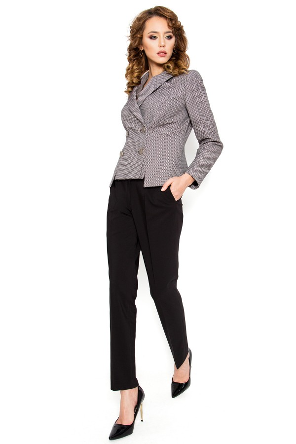 Costum cu pantalon Sharvani negru