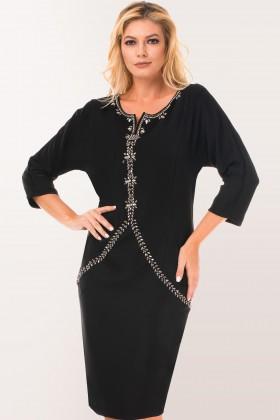 Rochie eleganta R 5350 negru