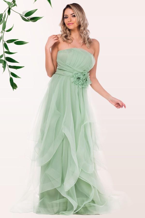 Rochie de ocazie R 5466 verde