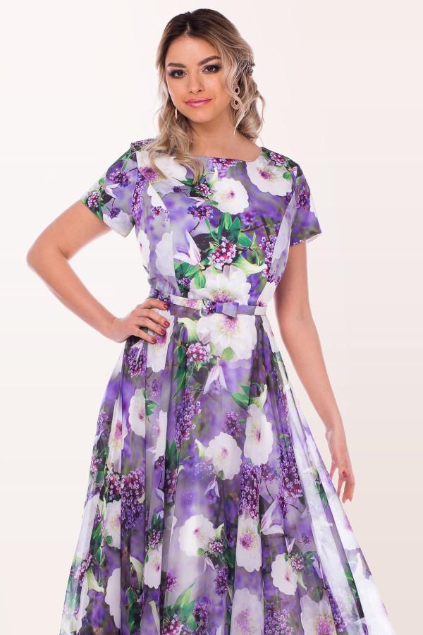 Rochie de ocazie R 0981 lila