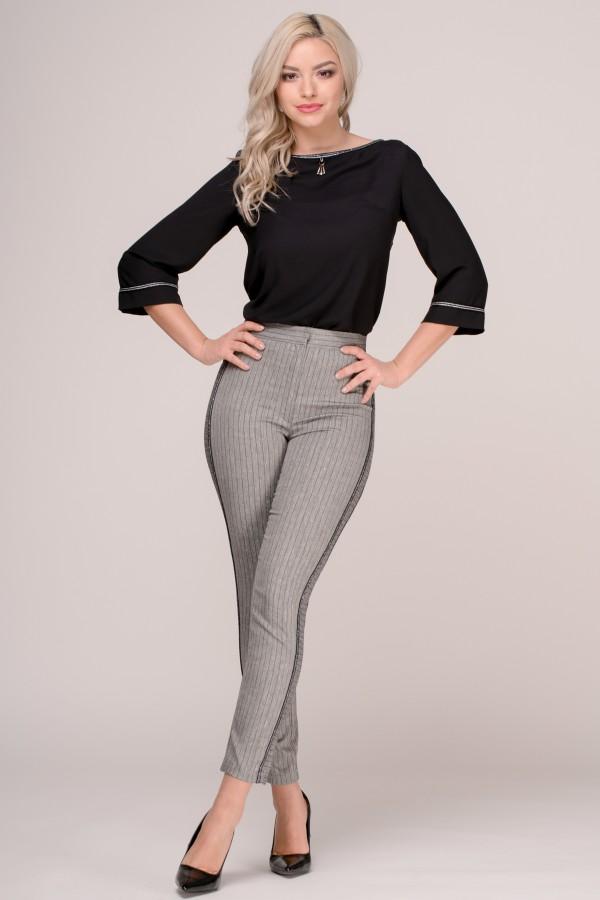 Pantalon casual P 158 gri