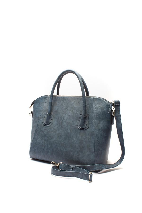 Geanta casual 785-710 albastra