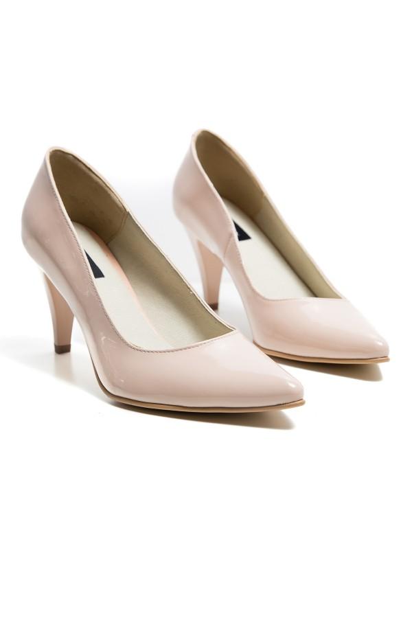 Pantofi dama Carolina bej