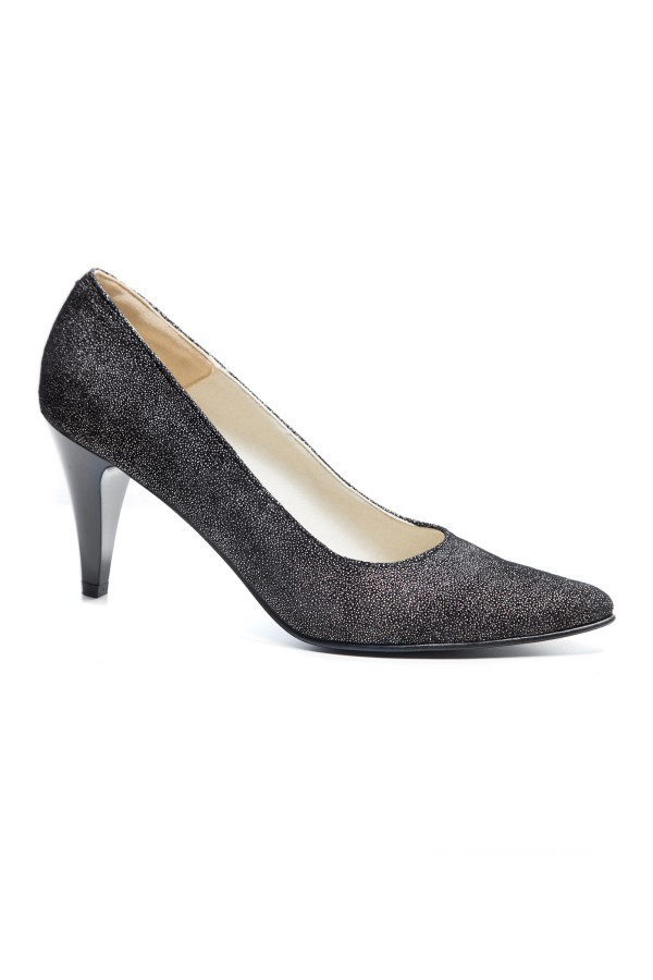 Pantofi dama Carolina argintiu