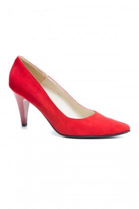 Pantofi dama Carolina rosu