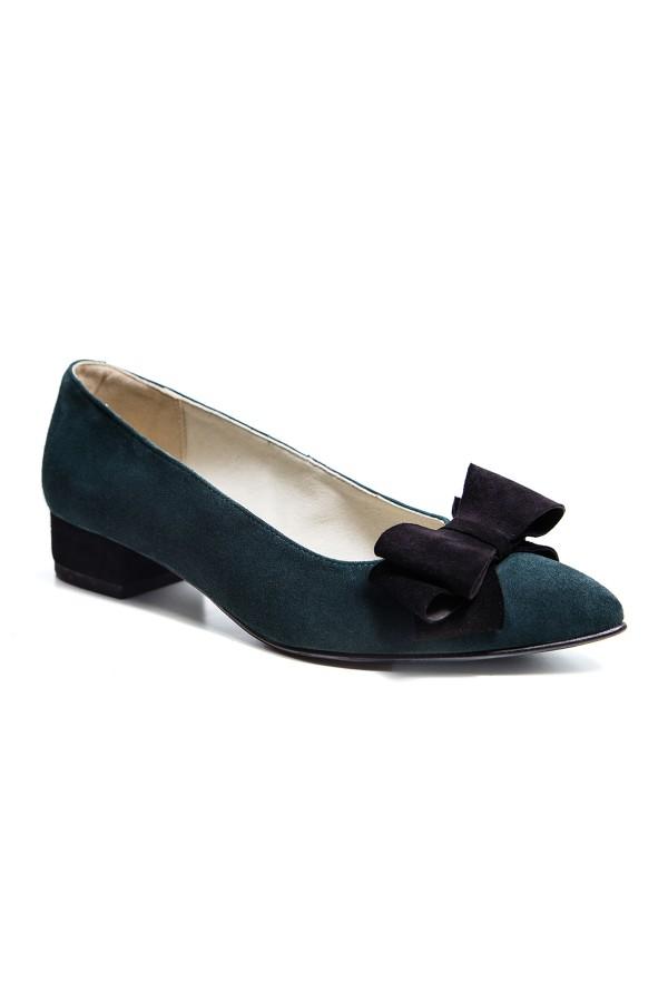 Pantofi dama Arabela verde smarald