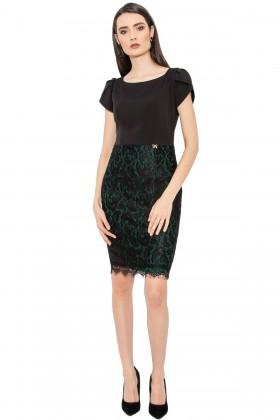 Rochie eleganta Vera verde