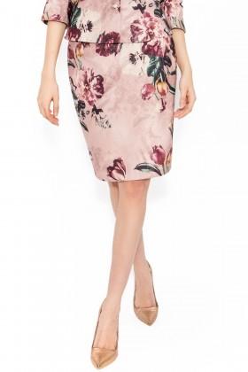 Fusta casual Sabina 1451 roz