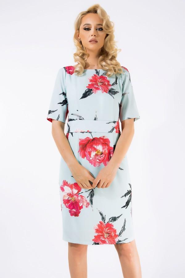 Rochie de zi Anya bleu