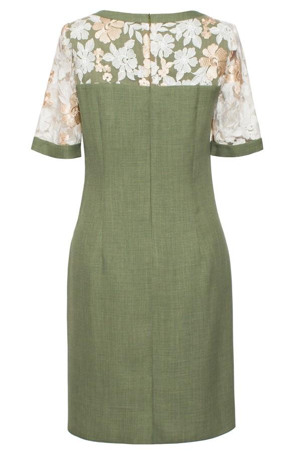 Rochie casual Irina verde