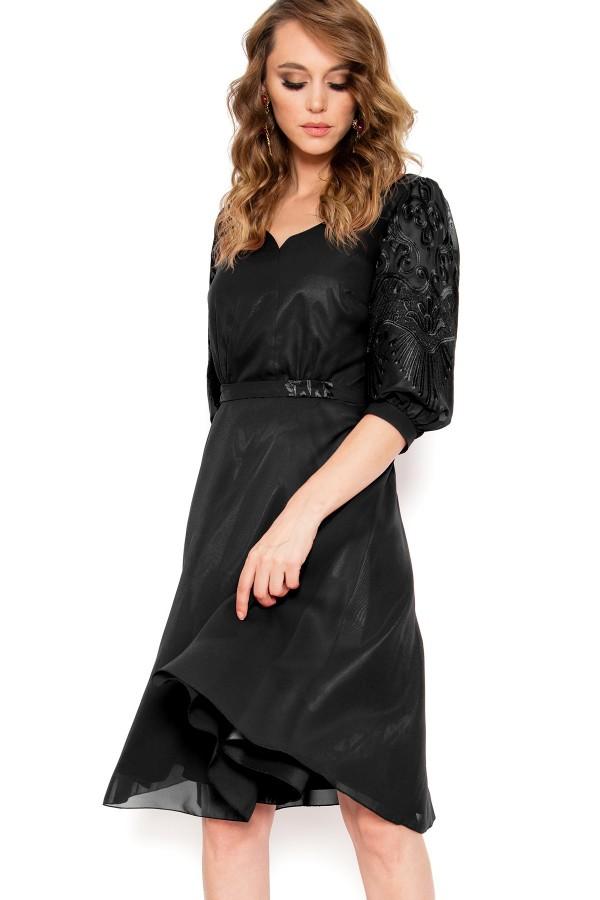 Rochie eleganta Corina negru