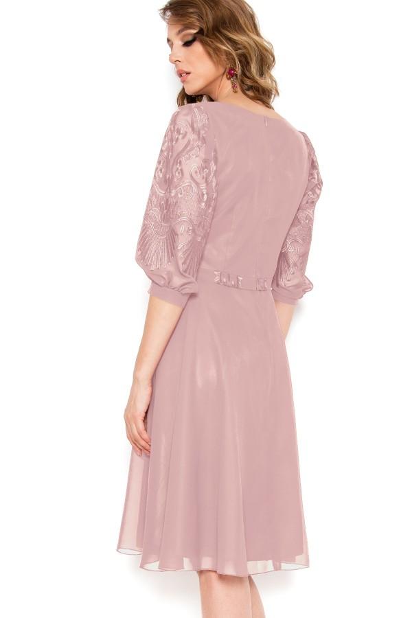 Rochie eleganta Corina roz